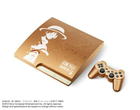 Image for PlayStation3 Slim Console - One Piece: Kaizoku Musou Gold Edition (HDD 320GB Model) - 110V