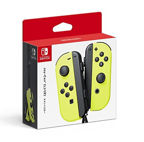 Image for Nintendo Switch - Joy-Con - (L)Neon-Yellow/(R)Neon-Yellow