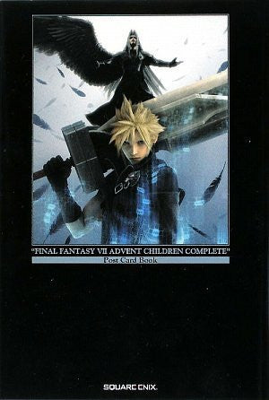 Final Fantasy Vii Advent Children   Postcard Book