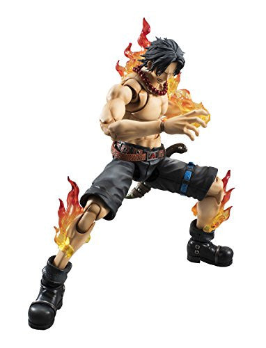 Image 3 for One Piece - Portgas D. Ace - Variable Action Heroes DX - 1/8 (MegaHouse)