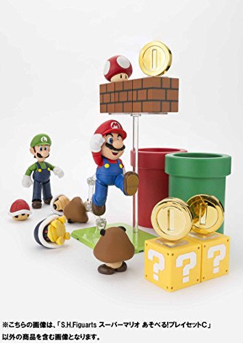 Image 10 for Super Mario Brothers - Met - Pakkun Flower - S.H.Figuarts - S.H.Figuarts Playset - Diorama Play Set C - C (Bandai)