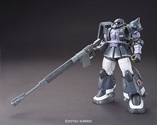 Image 2 for Kidou Senshi Gundam: The Origin - MS-06R-1A Zaku II High Mobility Type - HG Gundam The Origin - 1/144 - Black Tri-Stars, Gaia/Mash Custom (Bandai)