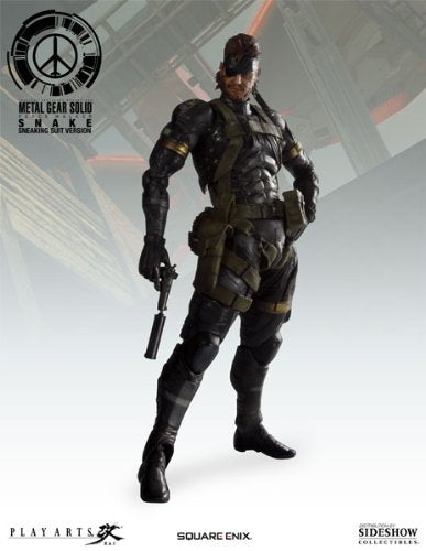 Image 1 for Metal Gear Solid Peace Walker - Naked Snake - Play Arts Kai - Sneaking Suits (Square Enix)