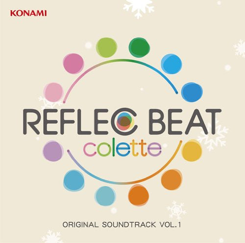 Image 1 for REFLEC BEAT colette ORIGINAL SOUNDTRACK VOL.1