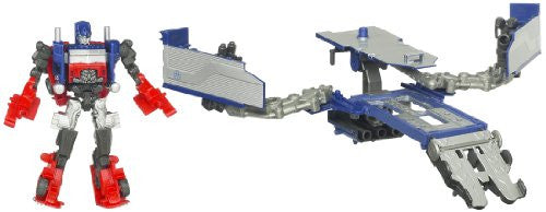 Image 3 for Transformers Darkside Moon - Convoy - Cyberverse - CV12 - Optimus Prime & Armored Weapon Platform (Takara Tomy)