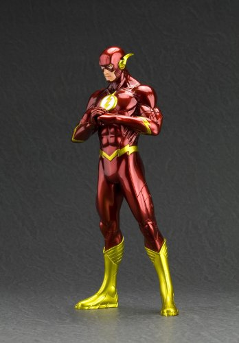 Image 3 for Justice League - Flash - DC Comics New 52 ARTFX+ - 1/10 (Kotobukiya)