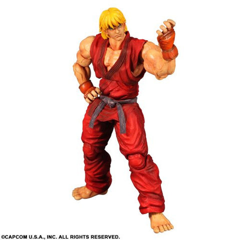 Image for Super Street Fighter IV: Arcade Edition - Ken Masters - Play Arts Kai (Square Enix)
