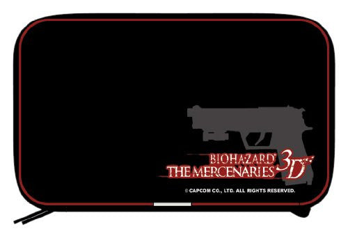 Image 1 for BioHazard: The Mercenaries 3D Semi Hard Pouch (Black)