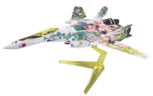Image 2 for Macross Frontier The Movie ~Sayonara no Tsubasa~ - Ranka Lee - VF-25F Messiah Valkyrie - 1/100 - Fighter Mode Ranka Marking Ver. (Bandai)