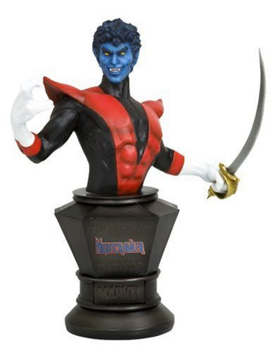 Image 1 for X-Men - Nightcrawler - Fine Art Bust - Classic Chapter Ver. (Kotobukiya)