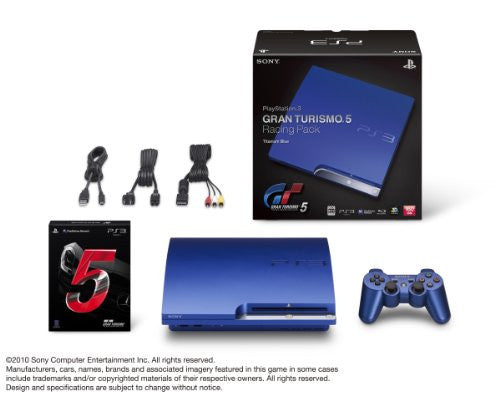 PlayStation3 Slim Console - Gran Turismo 5 Racing Pack (HDD 160GB Model) - 110V
