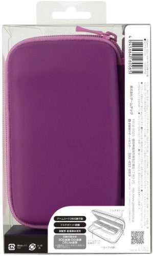 Image 2 for Palette Semi Hard Pouch for 3DS (Royal Purple)