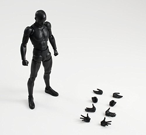 Image 2 for S.H.Figuarts - Body-kun - Solid Black Color ver. (Bandai)