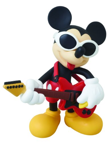 Image 1 for Mickey Mouse - Vinyl Collectible Dolls 186 - 186 - Grunge Rock Ver. (Medicom Toy)