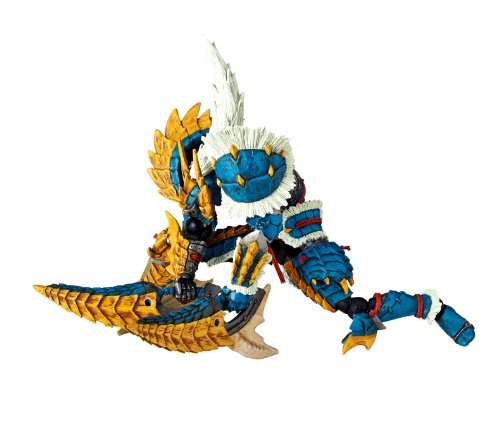 Image 3 for Monster Hunter - Hunter - Revoltech #133 - Jinouga Series (Kaiyodo)