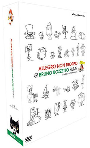 Image for Allegro Non Troppo & Bruno Bozzetto Collection 3-Disc Collector's Box
