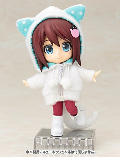 Image 8 for Cu-Poche - Cu-Poche Extra - Animal Parka Set - White Cat (Kotobukiya, Noix de Rome)