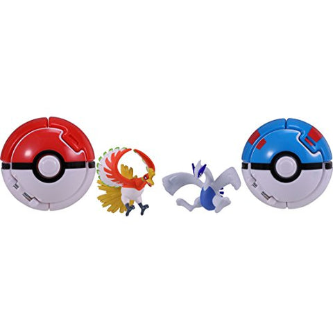 Pocket Monsters - Lugia - Monster Collection - Poké Del-Z - Super Ball (Takara Tomy)