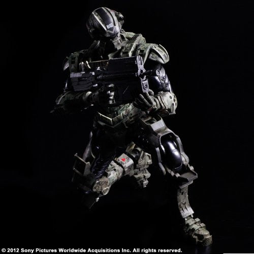 Image 5 for Starship Troopers: Invasion - Major Henry Varro - Play Arts Kai (Square Enix)