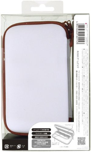 Image 2 for Palette Semi Hard Pouch for 3DS (Snow Red)