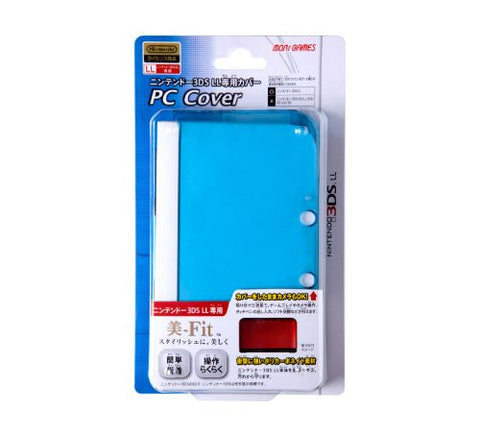 Image for PC Cover for 3DS LL (Clear Blue)