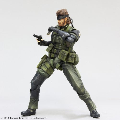 Image 3 for Metal Gear Solid Peace Walker - Naked Snake - Play Arts Kai - Jungle Fatigues (Square Enix)
