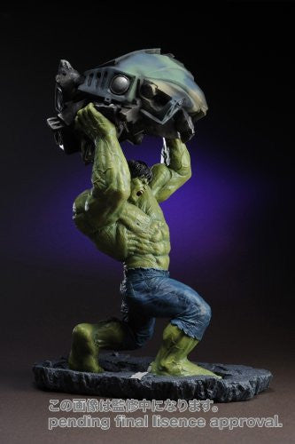 Image 4 for The Incredible Hulk Movie - Hulk - Fine Art Statue - Movie Ver. (Kotobukiya)