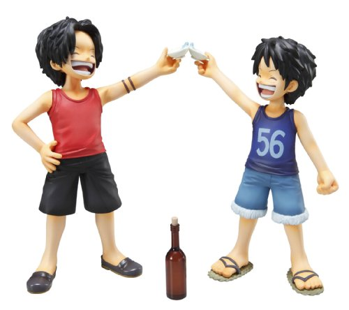 Image 2 for One Piece - Monkey D. Luffy - Portrait Of Pirates MILD - Excellent Model - 1/8 - CB-EX Brothers Bond (MegaHouse)