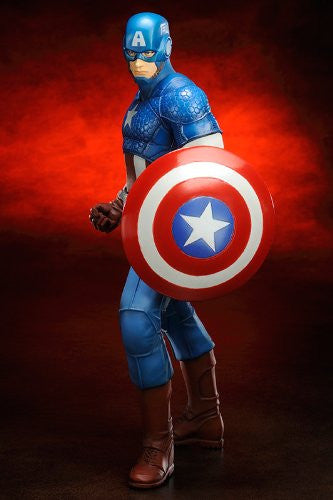 Image 5 for The Avengers - Captain America - ARTFX+ - Marvel The Avengers ARTFX+ - 1/10 (Kotobukiya)