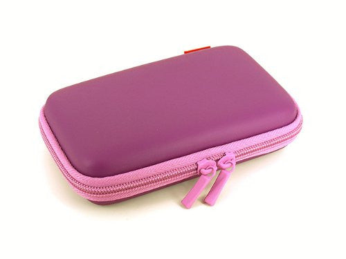 Image 3 for Palette Semi Hard Pouch for 3DS (Royal Purple)