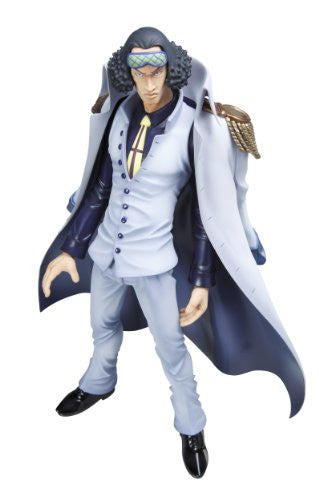 Image 3 for One Piece - Aokiji - Excellent Model - Portrait Of Pirates DX - 1/8 - Repaint with Coat (MegaHouse)