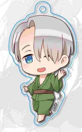 Image 1 for Yuri!!! on Ice - Victor Nikiforov - Acrylic Keychain - Keyholder - Tekutoko - Part 2