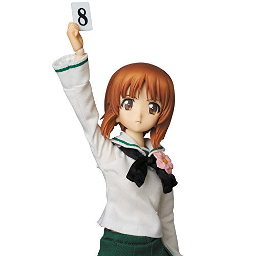 Image 7 for Girls und Panzer - Nishizumi Miho - Real Action Heroes #682 - 1/6 (Medicom Toy)