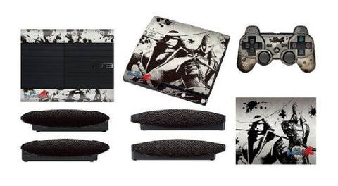 Sengoku Basara 4 Skin Seal Set for Playstation 3