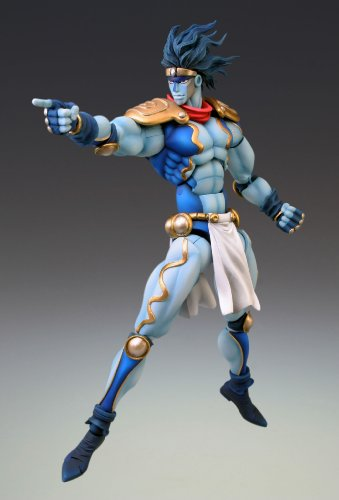 Image 2 for Jojo no Kimyou na Bouken - Stardust Crusaders - Star Platinum - Super Action Statue #10 - Second Ver. (Medicos Entertainment)