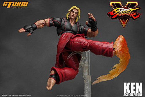 Image 7 for Street Fighter V - Ken Masters - 1/12 (Storm Collectibles)
