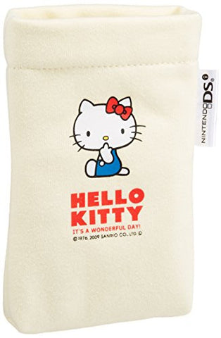 Image for Hello Kitty Slim Pouch III DSi (White)