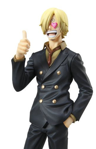 "Image 10 for One Piece - Sanji - Excellent Model - Portrait Of Pirates ""Sailing Again"" - 1/8 - Timeskip (MegaHouse)"