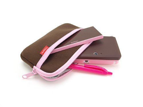 Image 6 for Palette Rubber Hardcover for 3DS (Chocolate Pink)