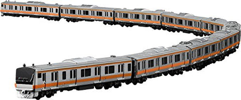 Figma #402 - E233 Train - 1/350 - Chou Line (Rapid) (Max Factory)