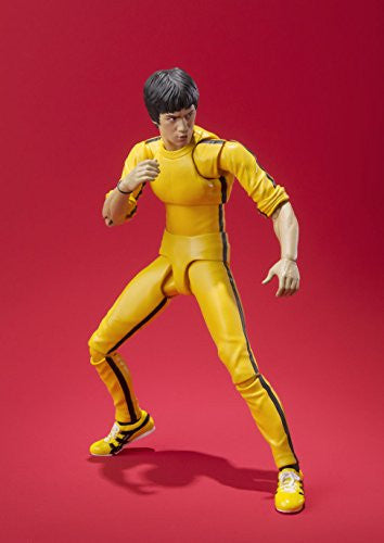 Image 7 for Game of Death - Bruce Lee - S.H.Figuarts - Yellow Track Suit (Bandai)