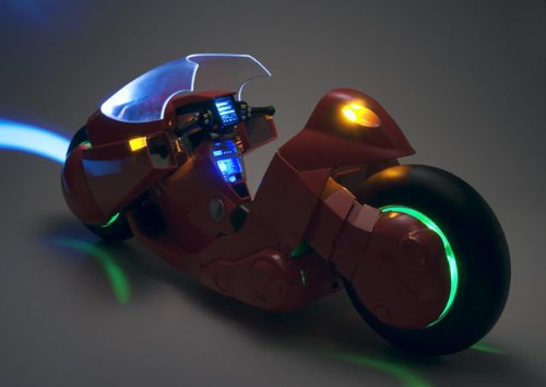 Image 4 for Akira - Popynica Tamashi - Project BM! - Kaneda's Bike - 1/6 (Bandai, Medicom Toy)