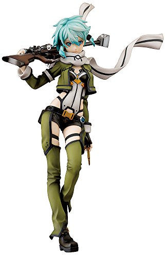 Image 1 for Sword Art Online II - Sinon - 1/7 (Aquamarine, Good Smile Company)