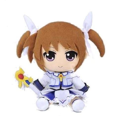 Image for Mahou Shoujo Lyrical Nanoha The Movie 2nd A's - Takamachi Nanoha - Mahou Shoujo Lyrical Nanoha The Movie 2nd A's Plush Series #01 (Gift)