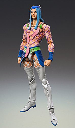Image 2 for Jojo no Kimyou na Bouken - Stone Ocean - Narciso Anasui - Super Action Statue #69 (Medicos Entertainment)