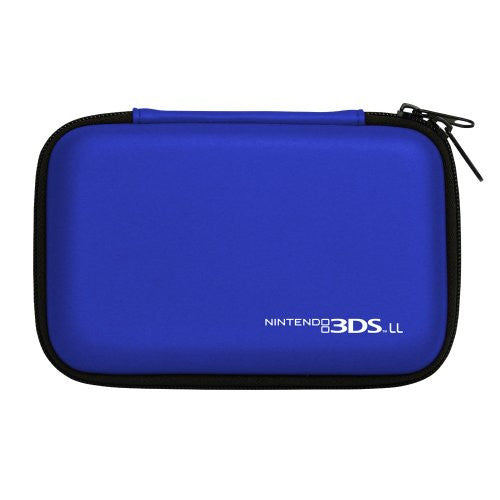 Image 2 for Hard Pouch for 3DS LL (Blue)