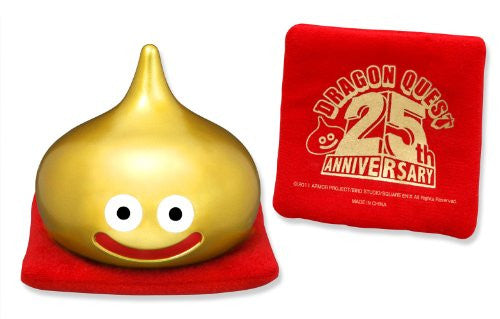 Image 2 for Dragon Quest - Slime - Dragon Quest Sofubi Monster - 25th Anniversary Gold color (Square Enix)