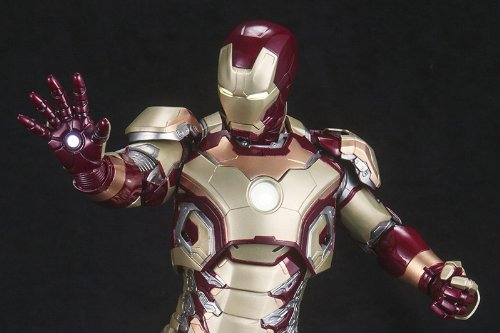 Image 2 for Iron Man 3 - Iron Man Mark XLII - ARTFX Statue - 1/6 (Kotobukiya)