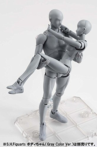 Image 3 for S.H.Figuarts - Body-kun - DX Set, Gray Color Ver. (Bandai)