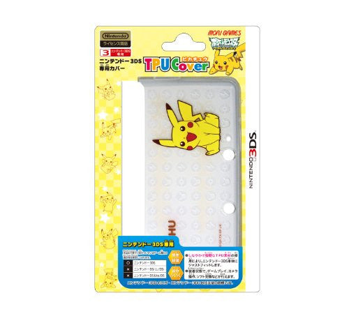 Image 1 for TPU Cover for Nintendo 3DS [Pikachu L Version]